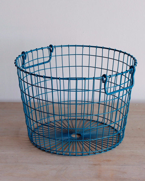 Potato basket  blue