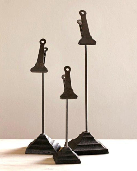 Lostine iron Clip Stands for cards