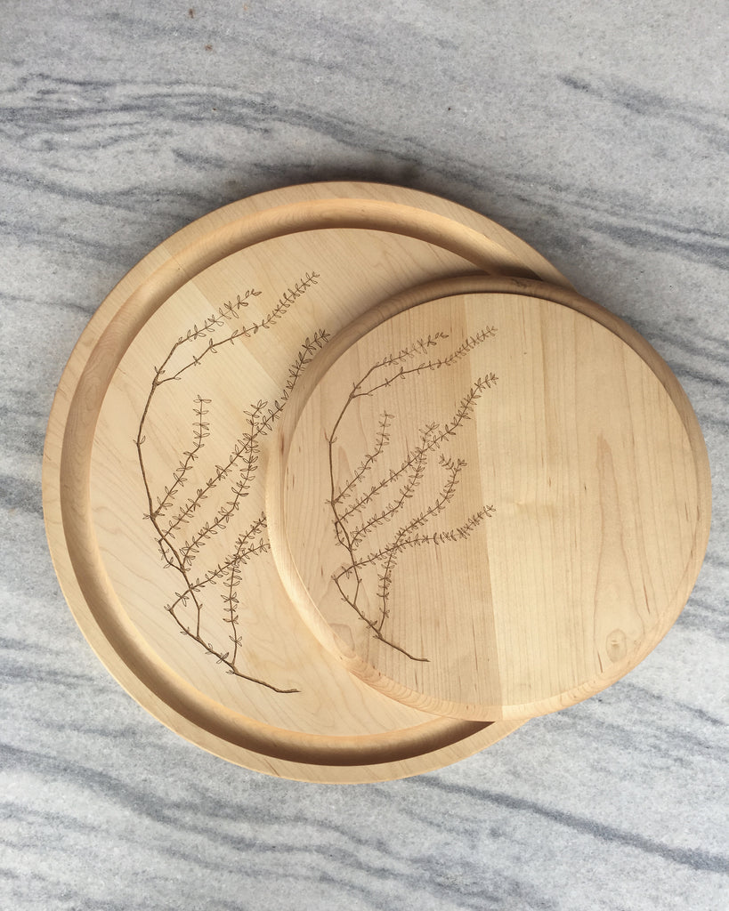 Aubury Cutting Boards/ Thyme / set of two