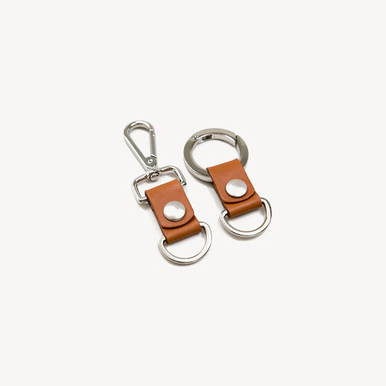 Key Clip | Saddle Tan
