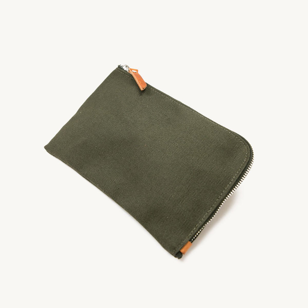Zip Pouch | Evergreen