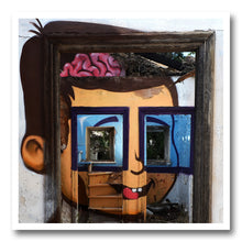 Load image into Gallery viewer, achilles print streetart graffiti anamorphic art misterachilles