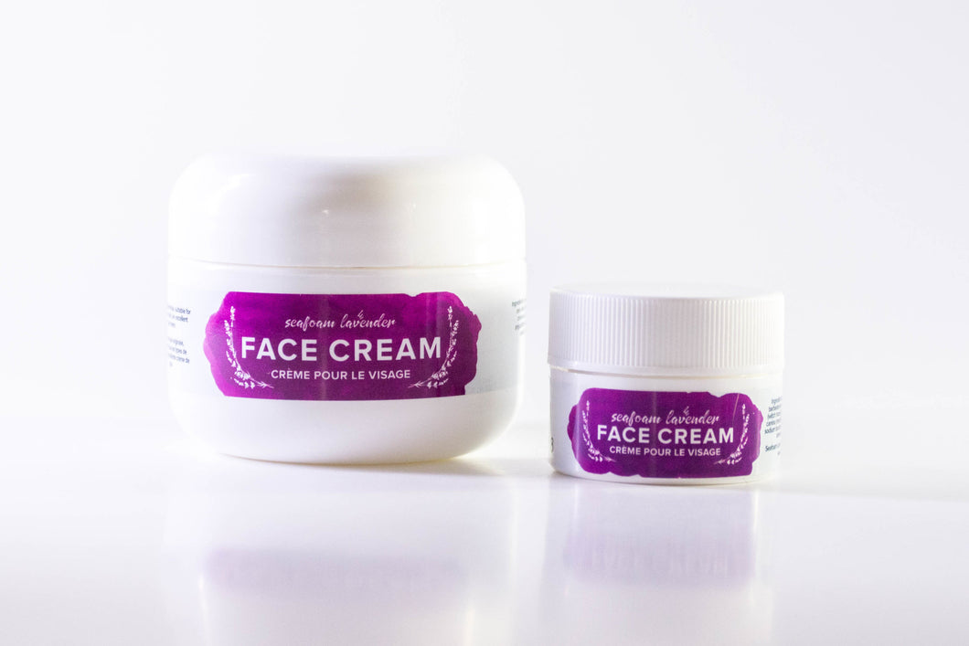 Classic Face Cream from Seafoam Lavender- Large