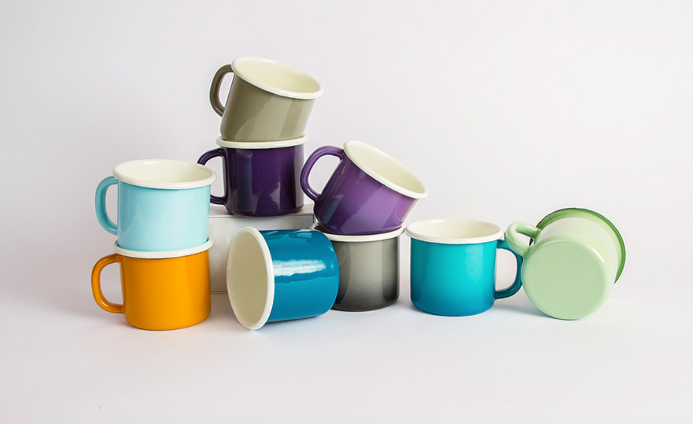 Bloom Enamel Mug