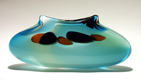 Handblown Glass 'Purse'