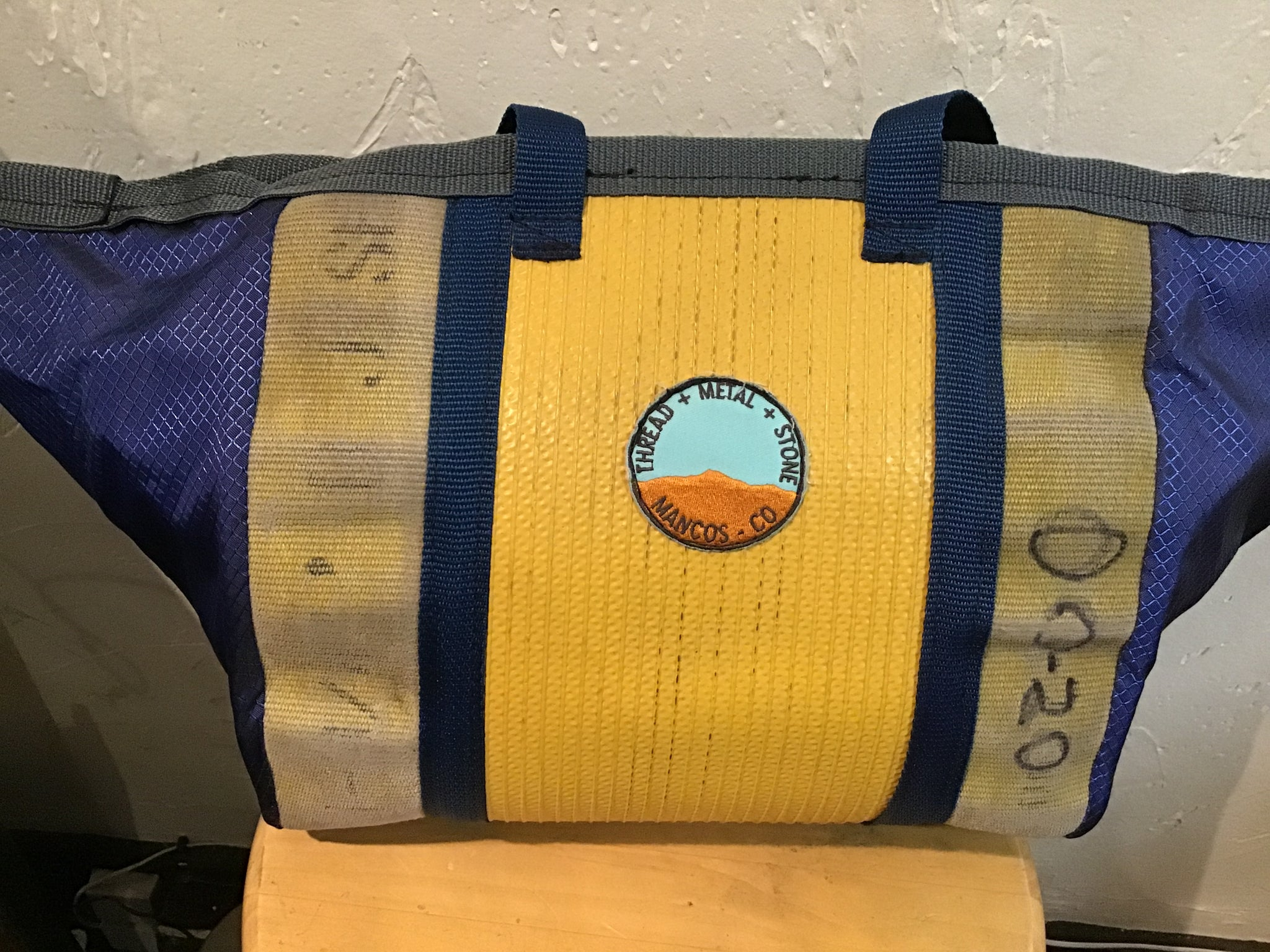 Repurposed Firehose Tote Lg