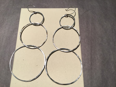 Beaten Path Earrings Long