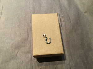 Horseshoe Charm Sterling Silver