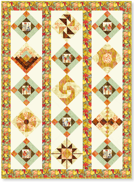 Clothworks Fall Feast Scrappy Sampler