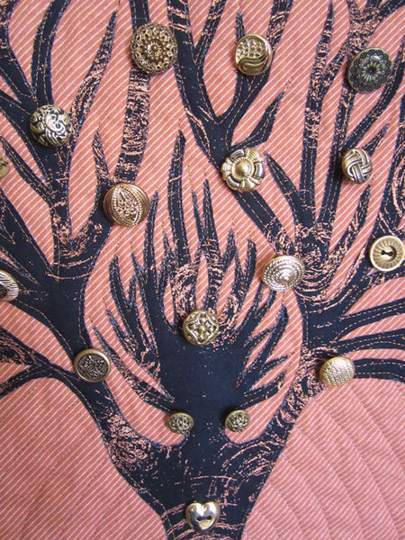 Re Re Re wall hanging detail