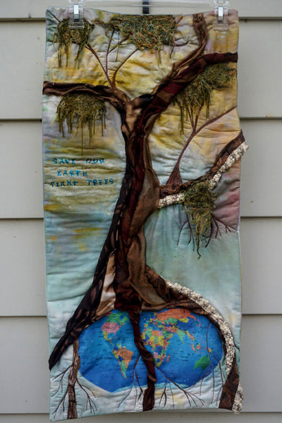 'Save the Earth' Quilt