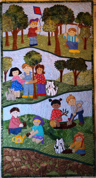 Seeds of Promise Art Quilt