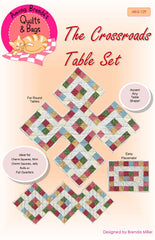 Pattern, Crossroads Table Runner, place mats and runners for round or rectangular tables