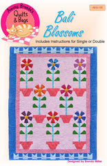 Pattern, Bali Blossoms Quilt