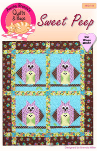Pattern, Sweet Peep, baby quilt or wall hanging