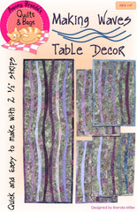 Pattern, Making Waves, placemats & table runner