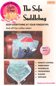 Pattern, Sofa Saddlebag, organizes all your stuff