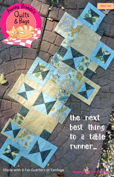 Pattern, the next best thing - to a table runner