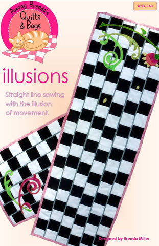 Pattern, Illusions Table Runner & Placemat