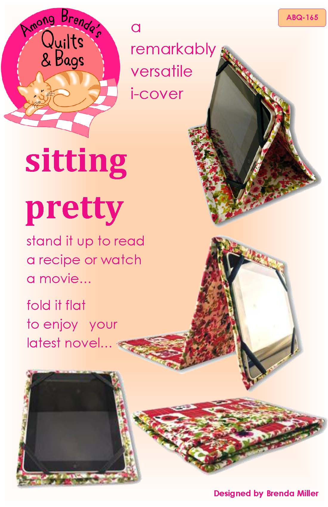 Pattern, Sitting Pretty, an i-cover stand and reader