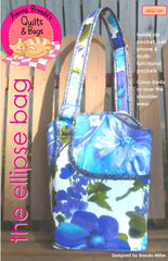Pattern, Ellipse Bag, Divided Bag