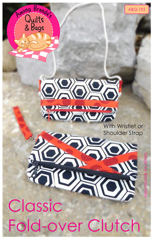 Pattern, Classic Fold-over Clutch