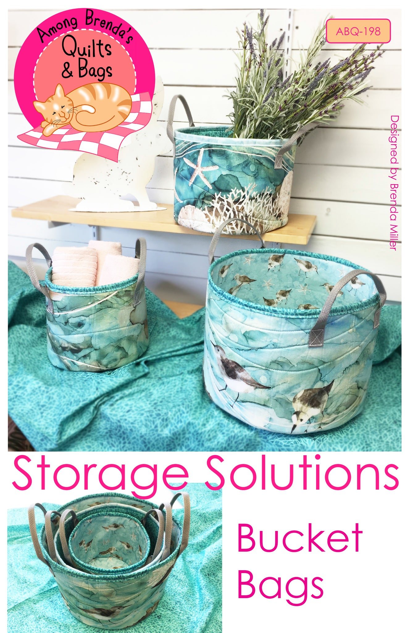 Pattern, Storage Solutions - Bucket Bags