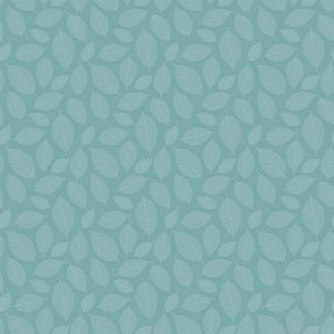Fabric, Silhouette, Nordic Sky Small Leaves 23989-62