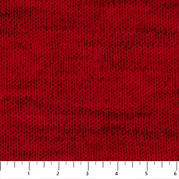 Fabric, My Canada, Red Knit Look 24017 24