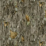Fabric, Grey Tree Bark 4314E-GRY Landscape Medley Collection