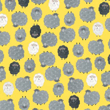Fabric, Sunshine Baa, Baa 5186106