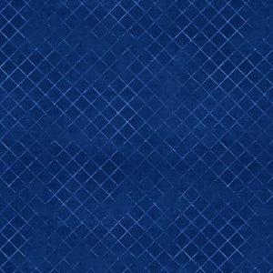 "Fabric, 108"" Wide Back, Blue Trellis Essentials, Beautiful Backing 7215-444"