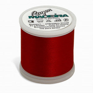 Rayon Machine Embroidery Thread - Reds, Pinks, Oranges, Yellows,  40wt 220yds