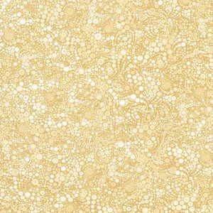 Fabric, Effervescence Collection Champagne Circles & Dots- AAQ17062154