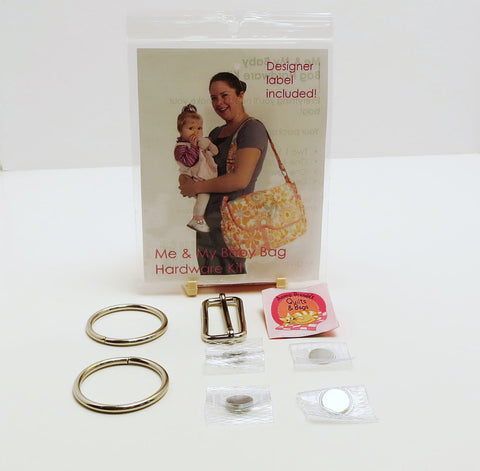 Bag Hardware Kit, Me & My Baby with designer label