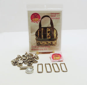 Bag Hardware Kit, Dining Out Bag with designer label