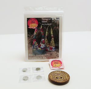 Bag Hardware Kit, Bikini Island Bag with designer label