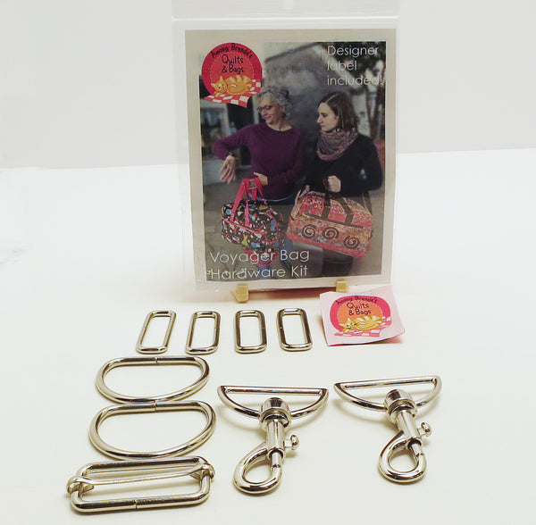 Bag Hardware, Voyager Bag kit with designer label