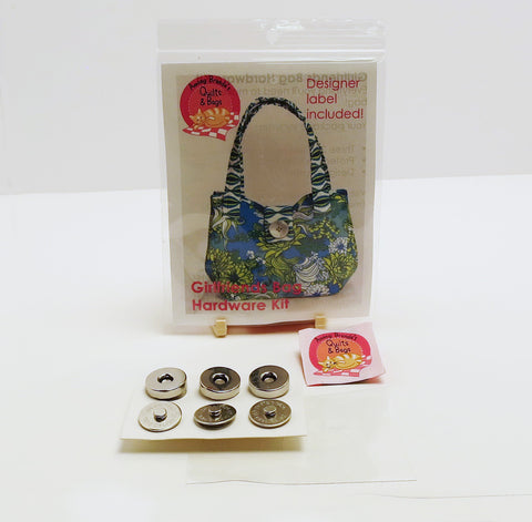 Bag Hardware, Girlfriends Bag kit with designer label
