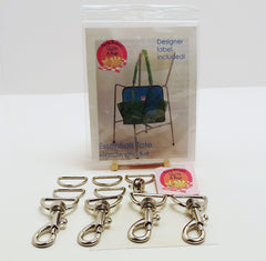 Bag Hardware Kit, Essentials Tote with designer label