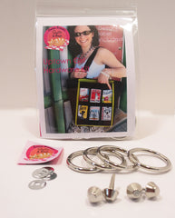 Bag Hardware Kit, Uptown Girl Tote with designer label