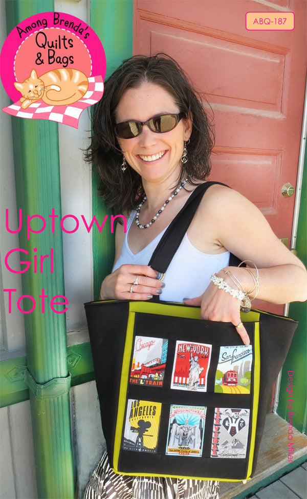 060b13aab Uptown Girl Tote Pattern – Among Brenda s Quilts