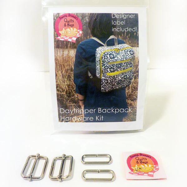Bag Hardware Kit, Daytripper Backpack with designer label