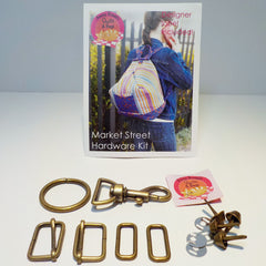 Bag Hardware Kit, Market Street Backpack, with designer label
