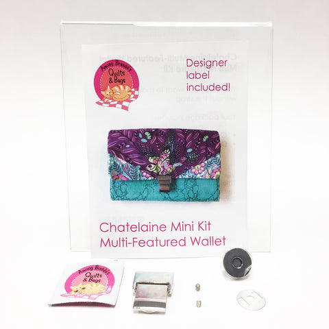 Bag Hardware Kit, Chatelaine Multi-Function Wallet Mini Hardware Kit
