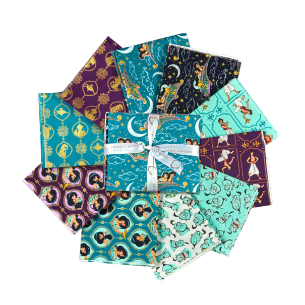 Fabric, Fat Quarter Bundle Aladdin