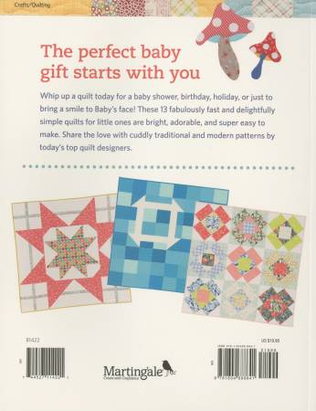 Book, Baby Quilts for Beginners