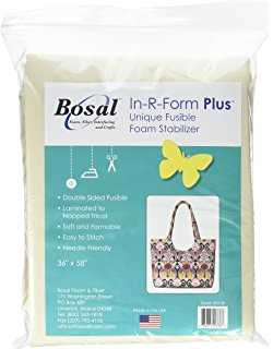 "Stabilizer, Bosal In-R-Form, Double Sided Fusible, 36"" x 58"""