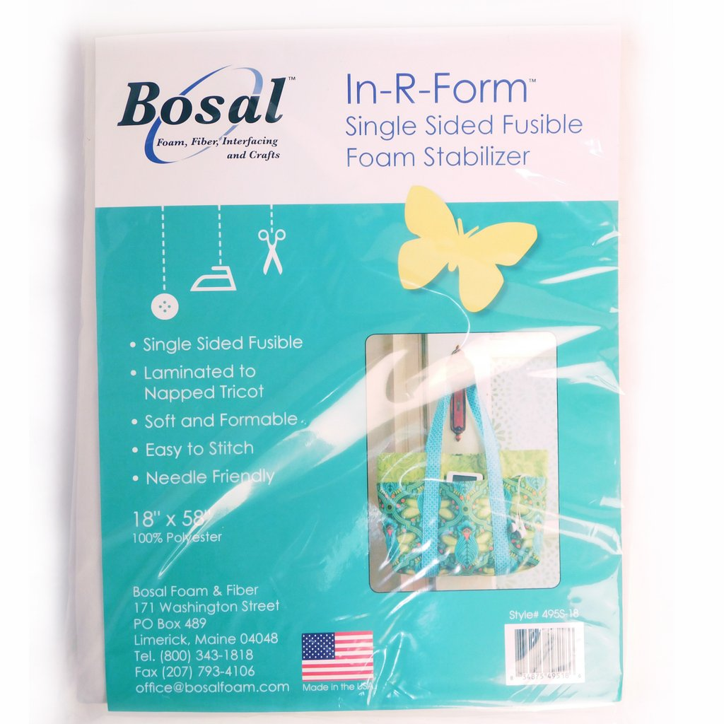 "Stabilizer, Bosal In-R-Form Single Sided Fusible Foam, 36"" x 58"""