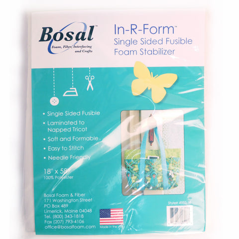 "Bosal In-R-Form Single Sided Fusible Foam Stabilizer, 18"" x 58"""